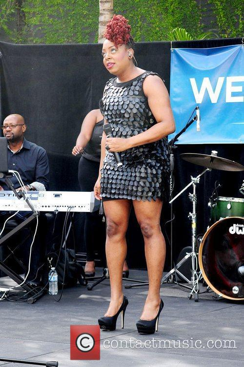 Ledisi Performs at a President Obama 2012 Fundraiser...