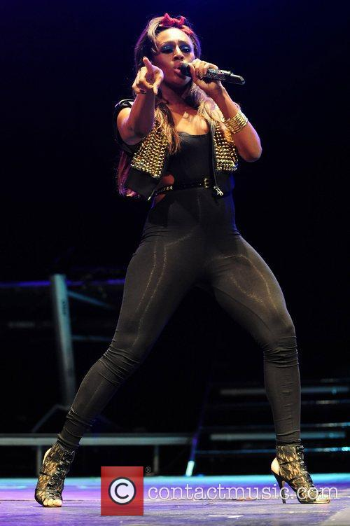 Alexandra Burke performs at Leeds castle
