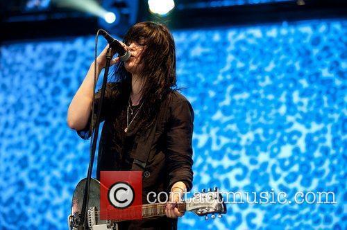 Alison Mosshart of The Kills  Leeds Festival...