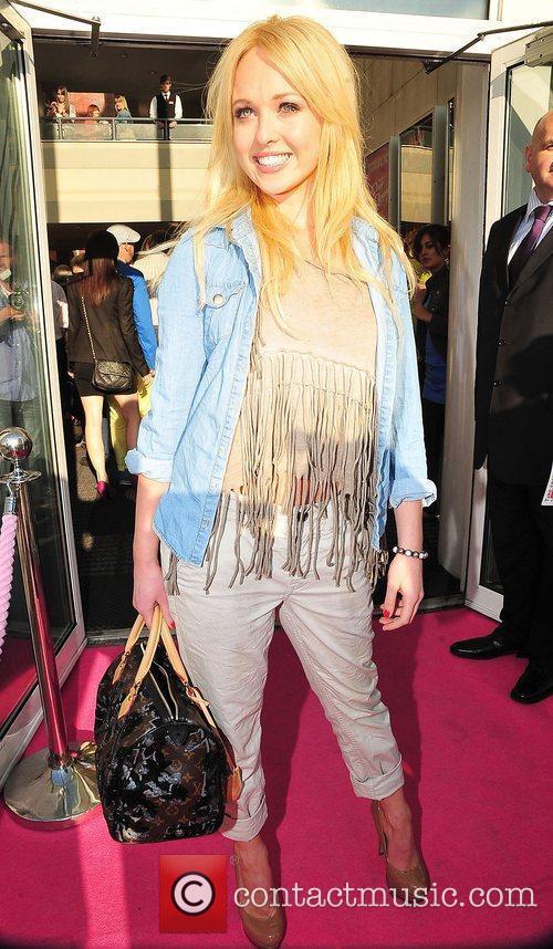 Jorgie Porter at press night for Legally Blonde...