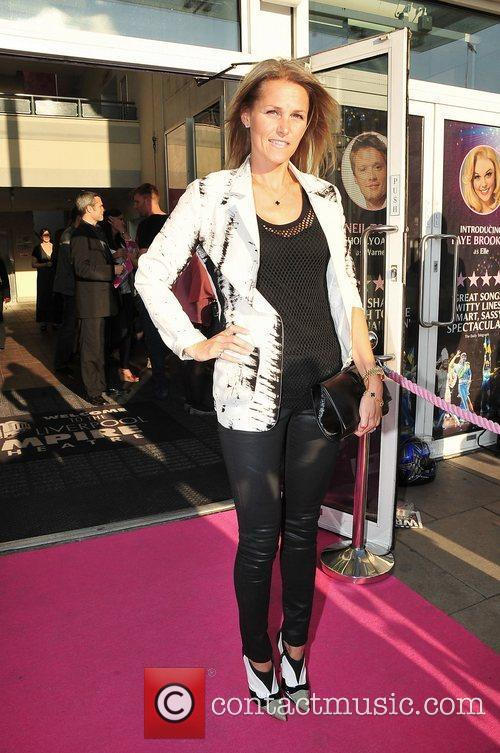 Jude Cisse at press night for Legally Blonde...
