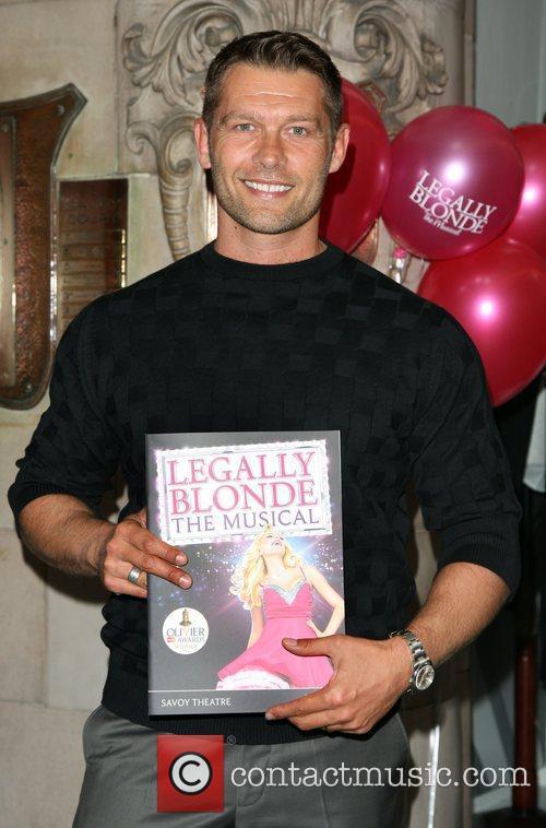 John Partridge 'Legally Blonde: The Musical' - press...