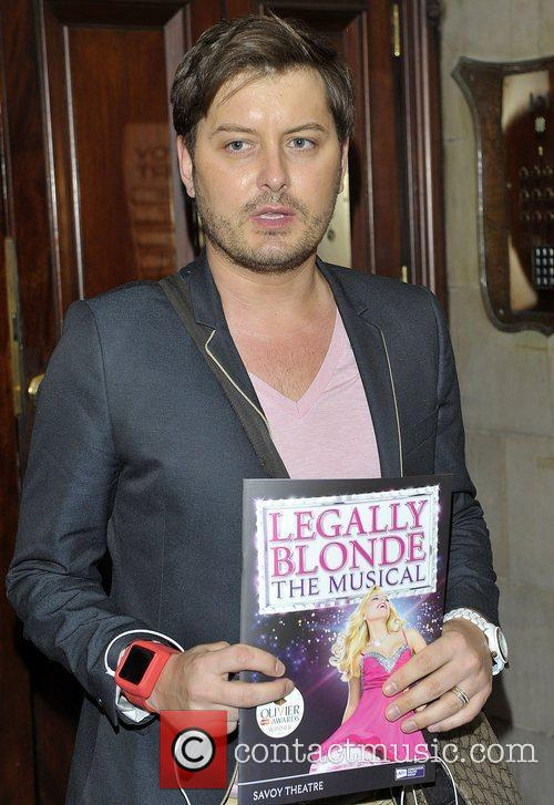 Brian Dowling Legally Blonde the Musical - press...