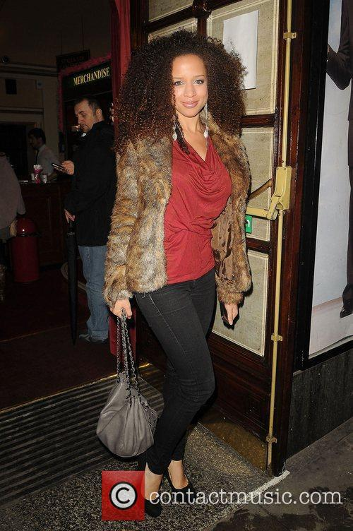 Natalie Gumede of Coronation Street,  arriving at...