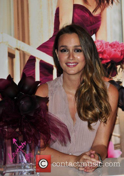 Leighton Meester The launch of 'Vera Wang Lovestruck'...