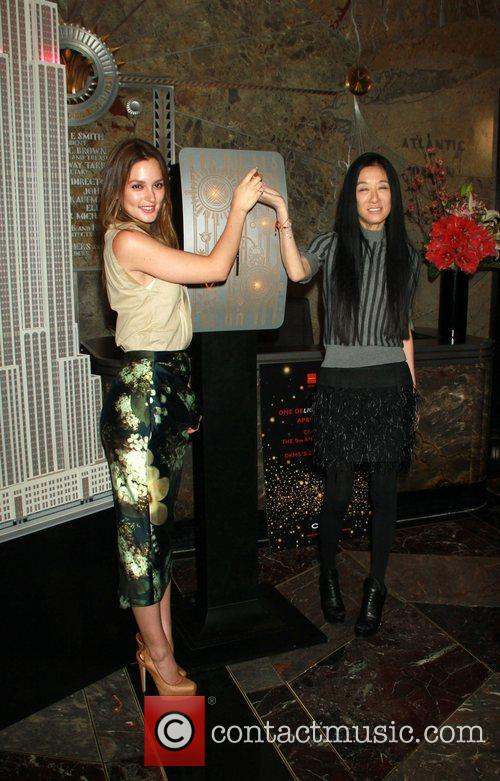 Leighton Meester and Vera Wang 7