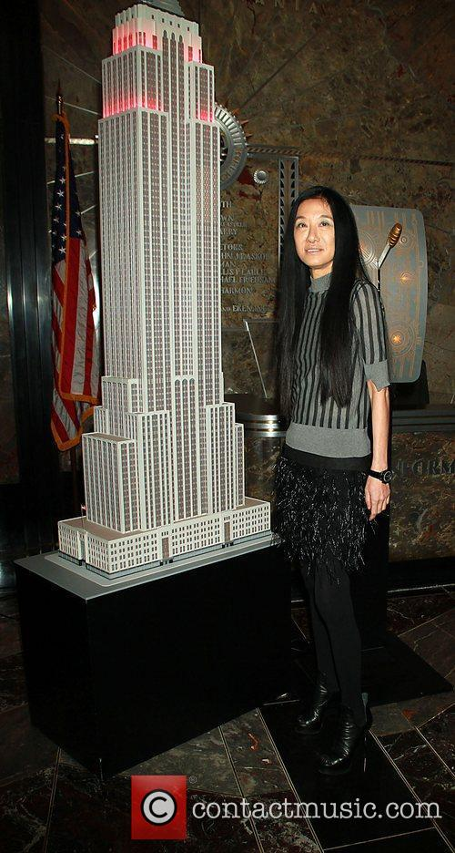 Leighton Meester and Vera Wang light the Empire...