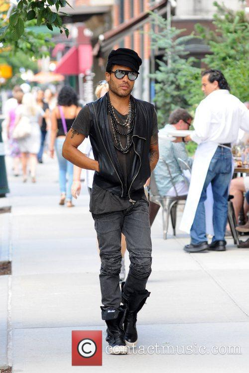 Lenny Kravitz out and about in Manhattan