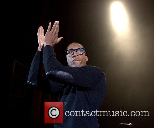 Performing live at HMV Hammersmith Apollo as the...