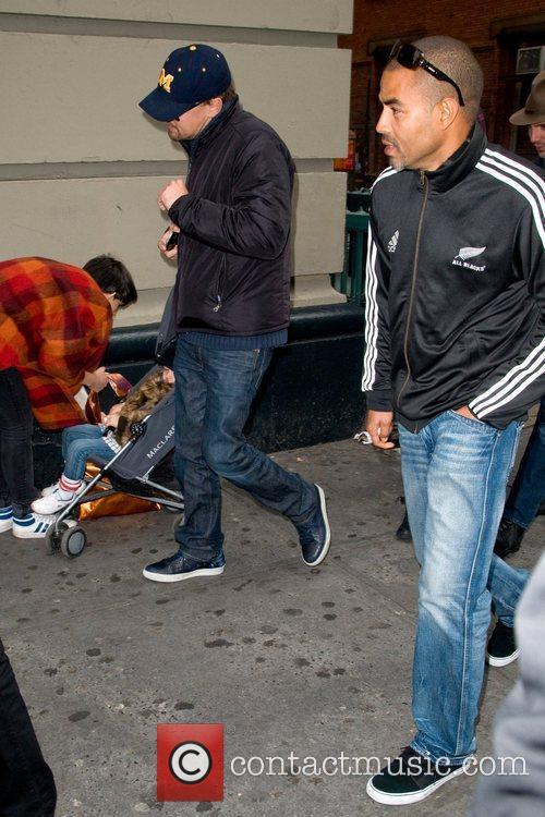 Leonardo Dicaprio and Lukas Haas 5