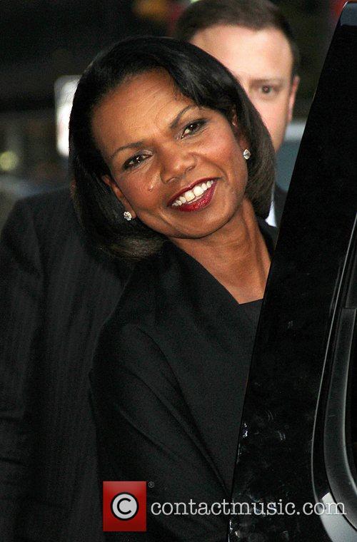 Former US Secretary of State Dr. Condoleezza Rice...