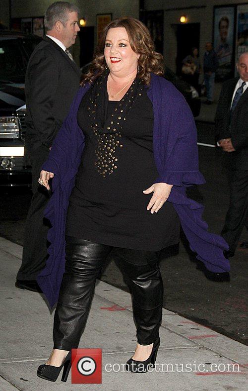Melissa McCarthy,  at the Ed Sullivan Theater...