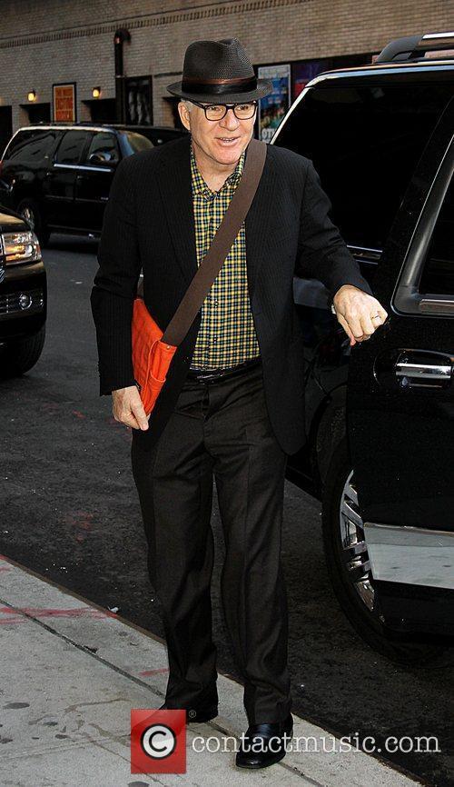 Steve Martin,  at the Ed Sullivan Theater...