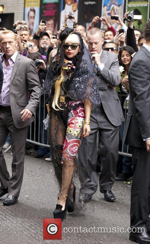 Lady Gaga and Ed Sullivan 2