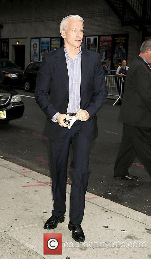 Anderson Cooper and The Late Show With David Letterman 2
