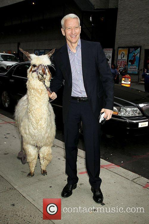 Anderson Cooper and The Late Show With David Letterman 7
