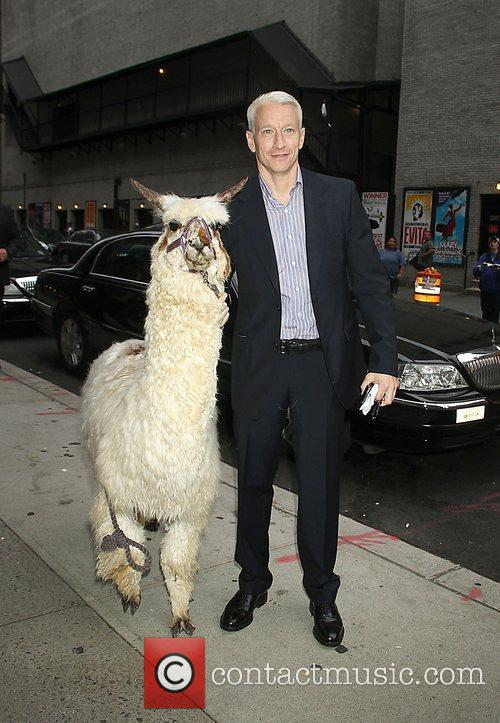 Anderson Cooper and The Late Show With David Letterman 8