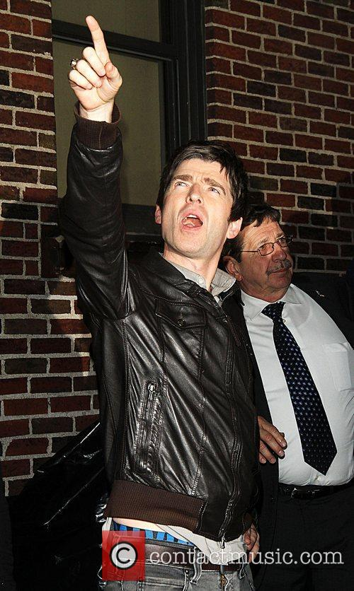 Noel Gallagher, Ed Sullivan and The Late Show With David Letterman 8