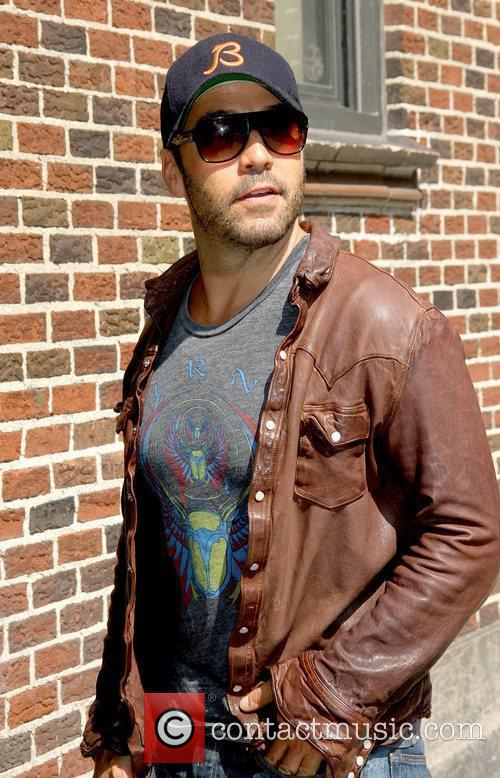 Jeremy Piven 'The Late Show with David Letterman'...