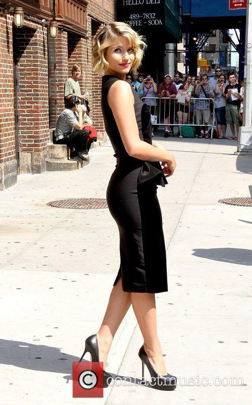 Dianna Agron 'The Late Show with David Letterman'...