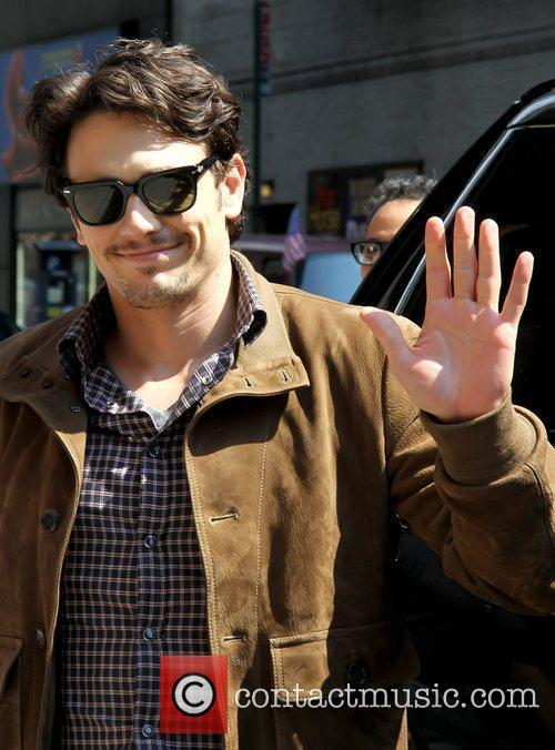 James Franco 'The Late Show with David Letterman'...