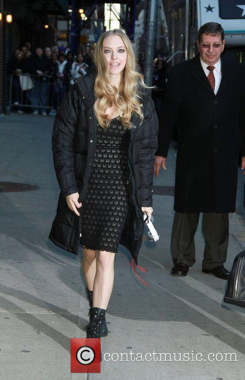 Amanda Seyfried and Ed Sullivan 10