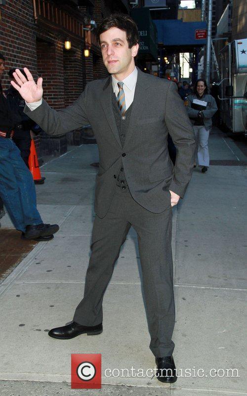 B. J. Novak 'The Late Show with David...