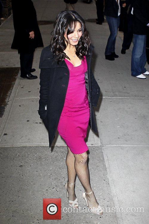 Vanessa Hudgens 'The Late Show with David Letterman'...