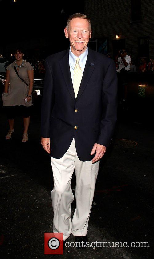 Alan Mulally 'The Late Show with David Letterman'...