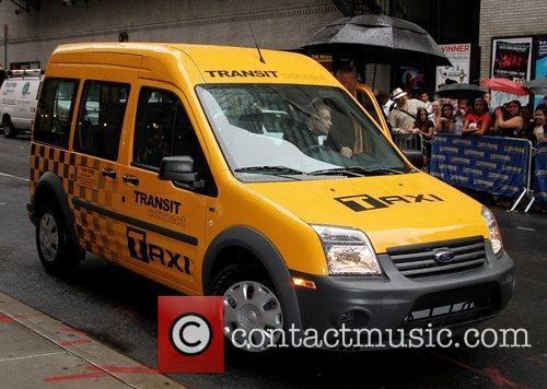 New Ford NYC Taxi 'The Late Show with...