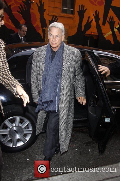 Mark Harmon 'The Late Show with David Letterman'...