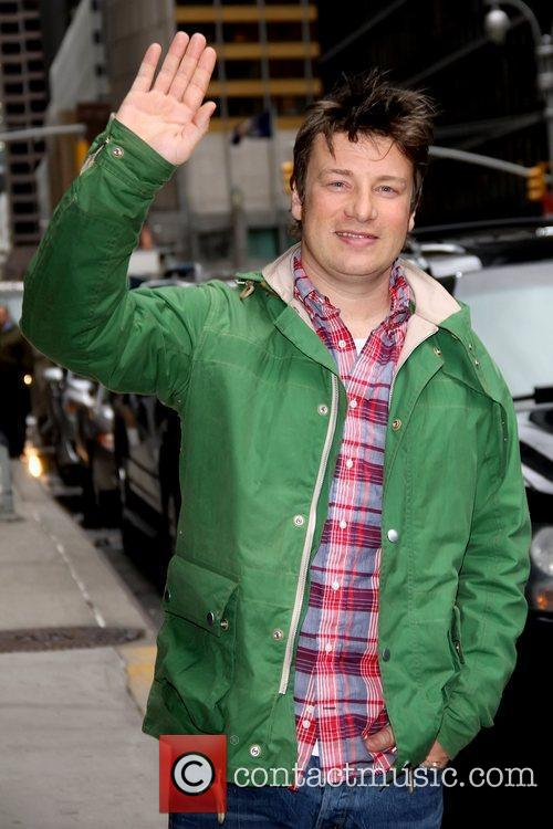 Jamie Oliver 'The Late Show with David Letterman'...