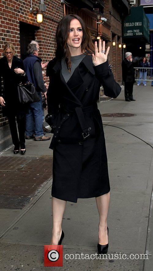 Jennifer Garner 'The Late Show with David Letterman'...