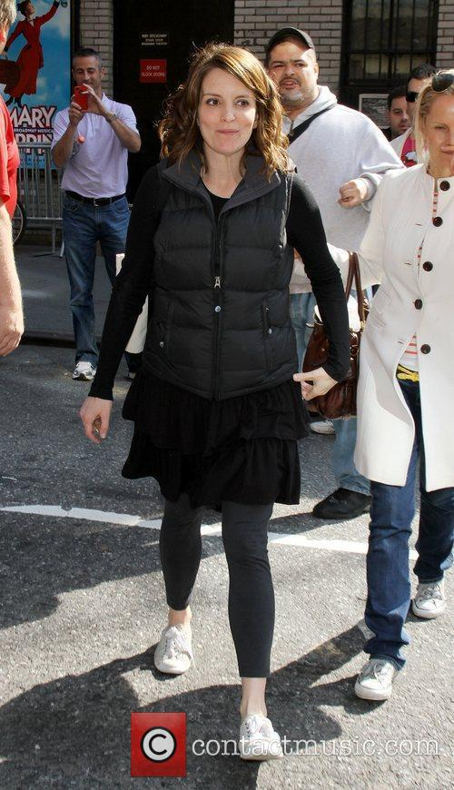 Tina Fey, who is pregnant with her second...