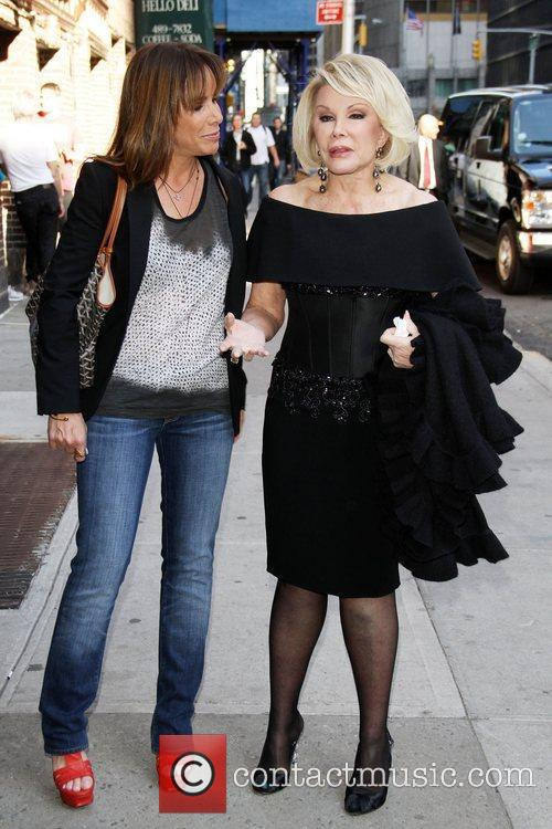 Melissa Rivers and Joan Rivers 9