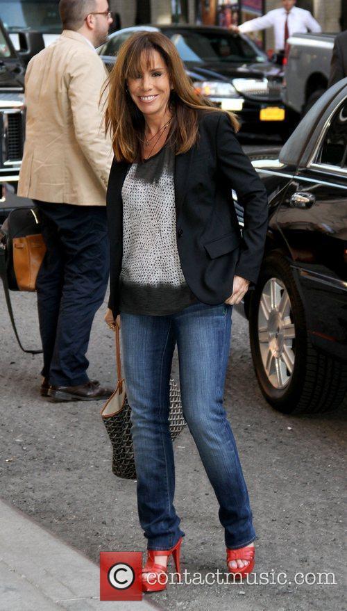 Melissa Rivers Celebrities outside The Ed Sullivan Theater...