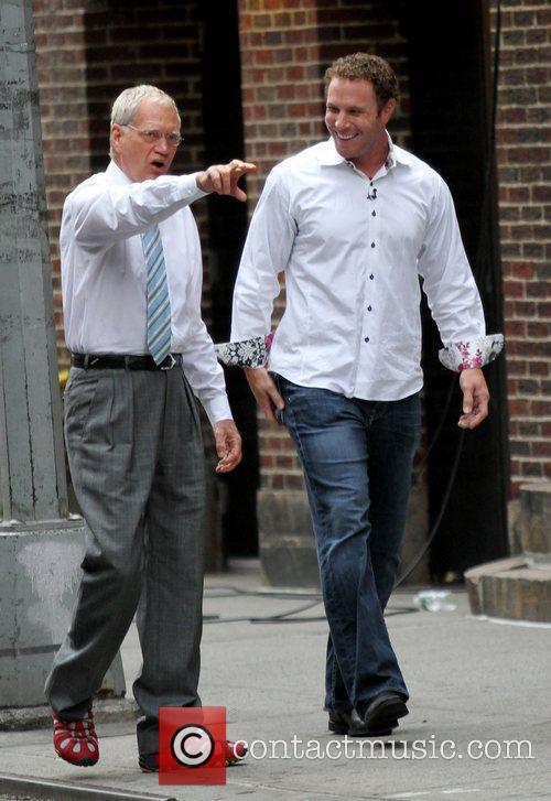 David Letterman, Josh Hamilton, Texas