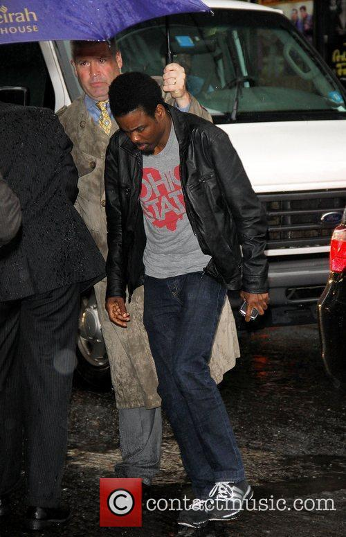 Chris Rock  'The Late Show with David...