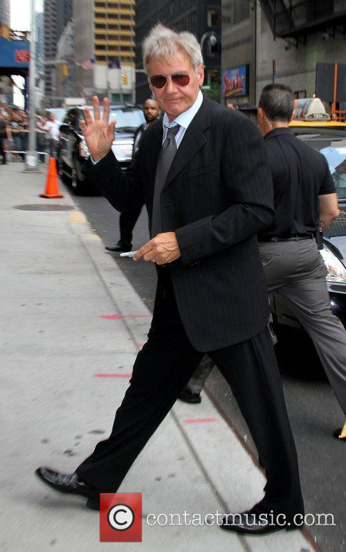 Celebrities at 'The Late Show with David Letterman'...