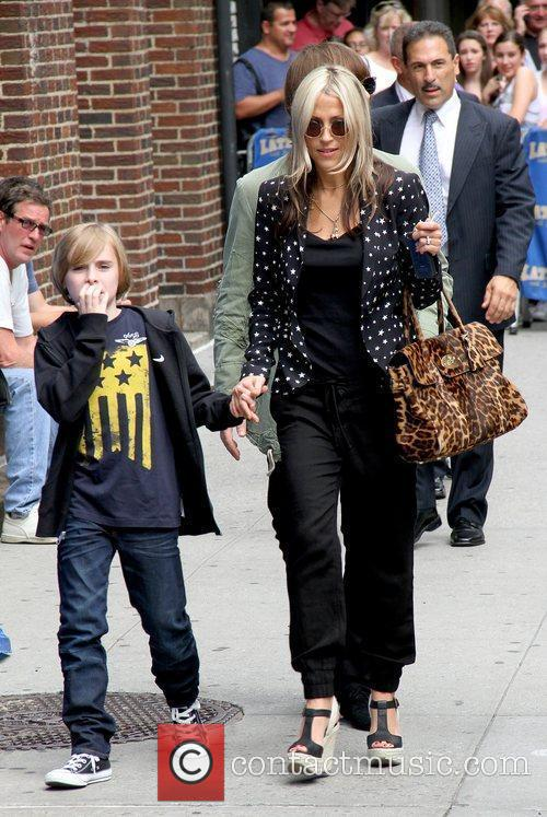Gene Gallagher and Nicole Appleton 'The Late Show...