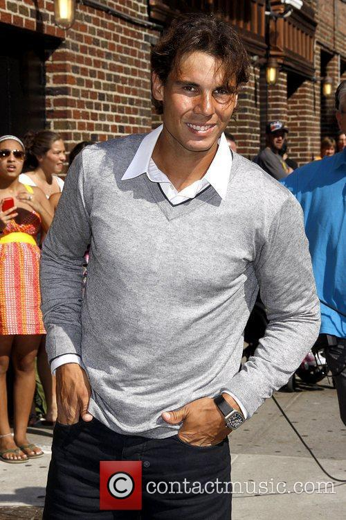 Rafael Nadal 'The Late Show with David Letterman'...