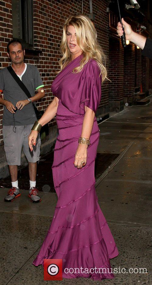 Kirstie Alley 'The Late Show with David Letterman'...