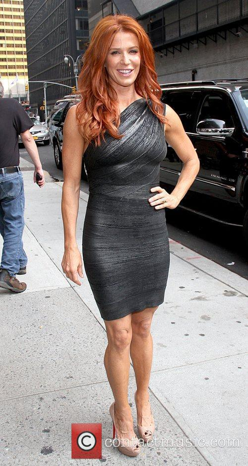 Poppy Montgomery 'The Late Show with David Letterman'...