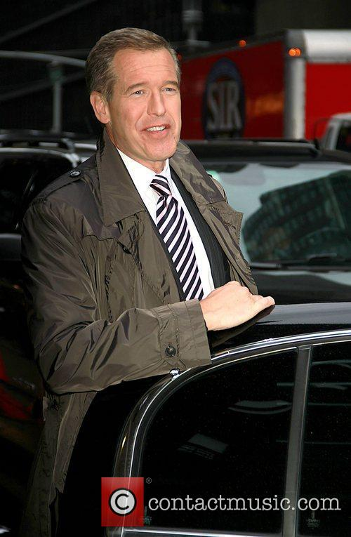 Brian Williams, Late Show With David Letterman
