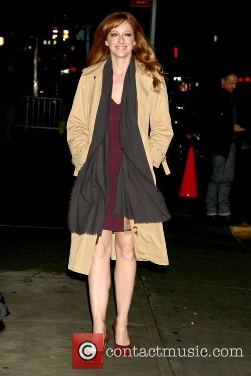 Judy Greer 'The Late Show with David Letterman'...