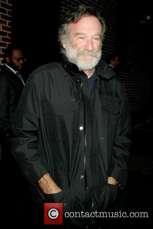 Robin Williams 'The Late Show with David Letterman'...