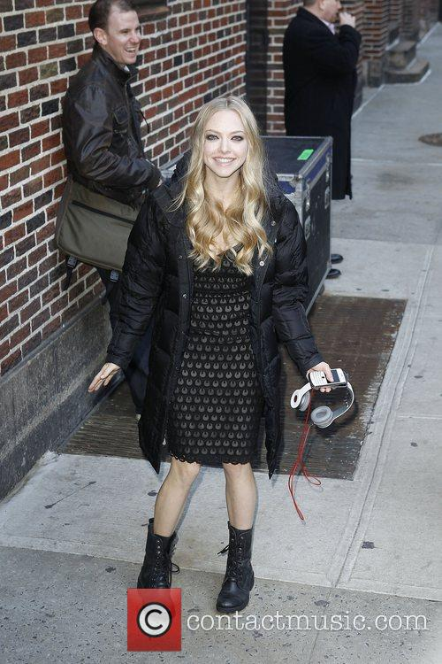 Amanda Seyfried, Ed Sullivan, The Late Show With David Letterman