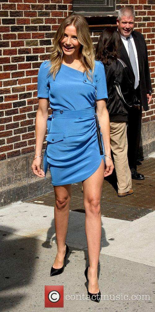 Cameron Diaz 'The Late Show with David Letterman'...
