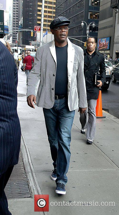 Samuel L. Jackson 'The Late Show with David...