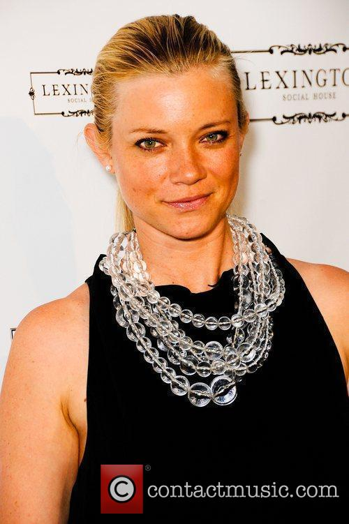 Amy Smart  Lexington Social House Grand Opening...